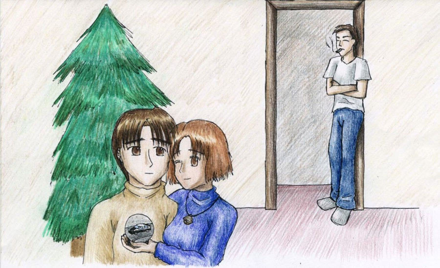 Initial D Christmas by himeko