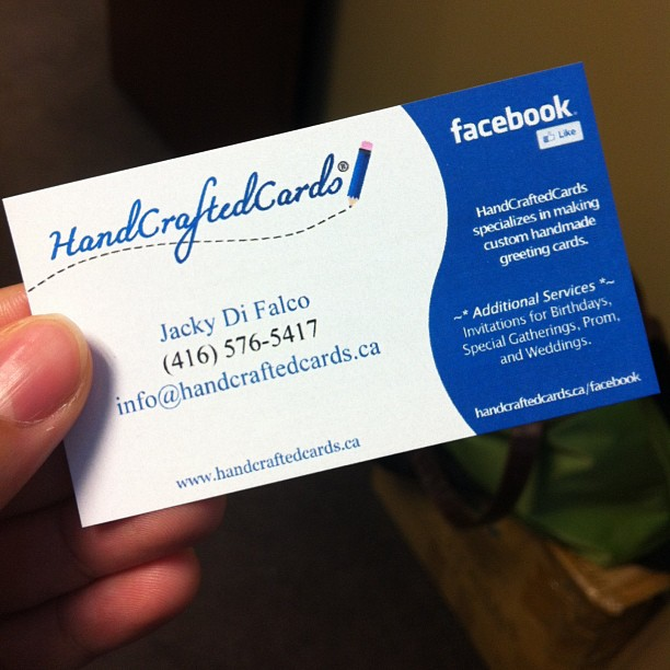 My business card by handcraftedcards on deviantart my business card by handcraftedcards colourmoves