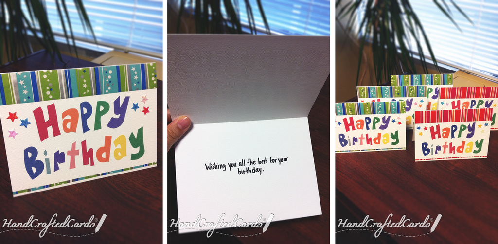 Happy Birthday Cards by HandCraftedCards