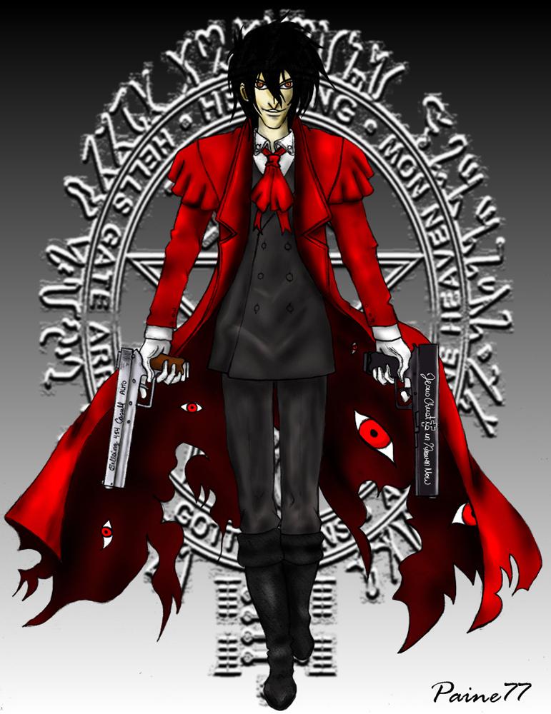 Alucard (Hellsing) by Paine77