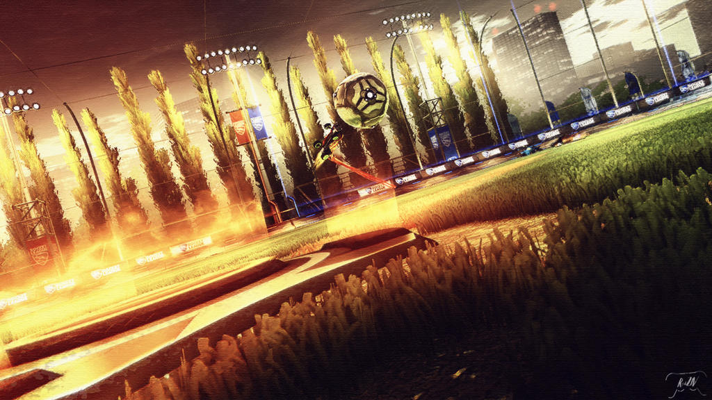 Rocket League Wallpaper Hd Boost Edition By Reiziv On Deviantart