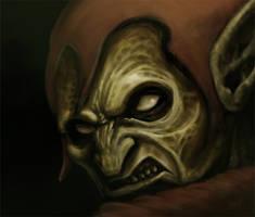 Green Goblin Digital Paint
