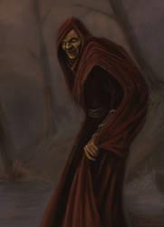 Some creepy warlock thing