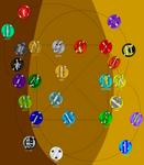 Chakra Elements Map 2.3