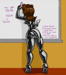 Mika In Class by Shennanigma
