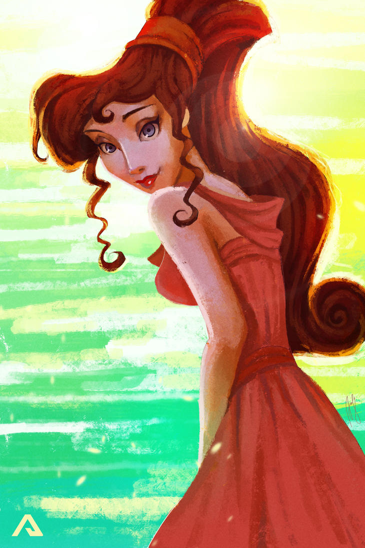 Megara by Andreanable