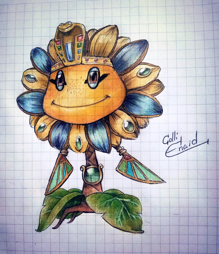 Sun pharaoh (pvz Garden Warfare) by ColliEnaid