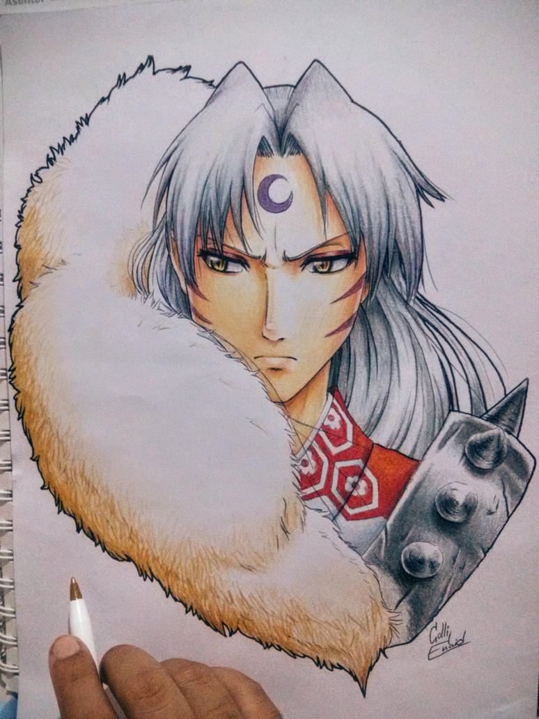 Sesshomaru (finished) by ColliEnaid