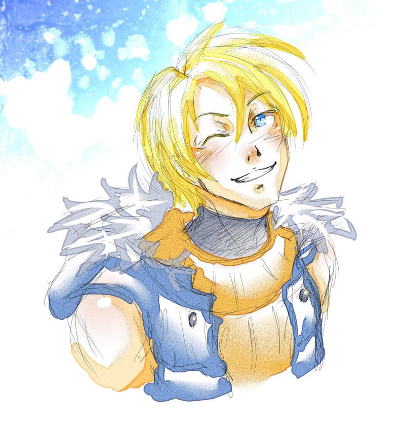 Idk I'll name him Viktor? by KitsuneSama1720
