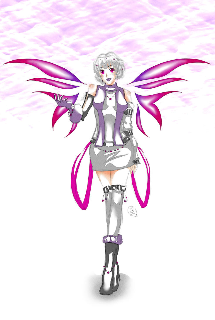 My Campaign Character by KitsuneSama1720
