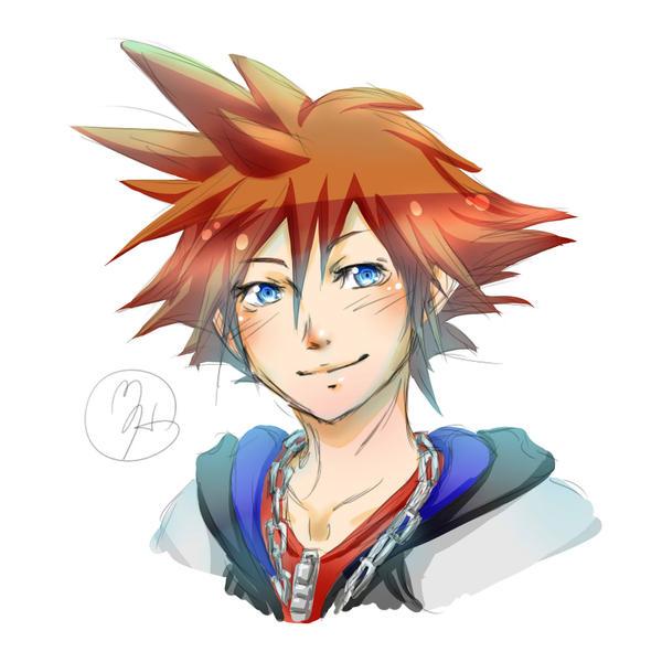 Sora-doodle-color by KitsuneSama1720