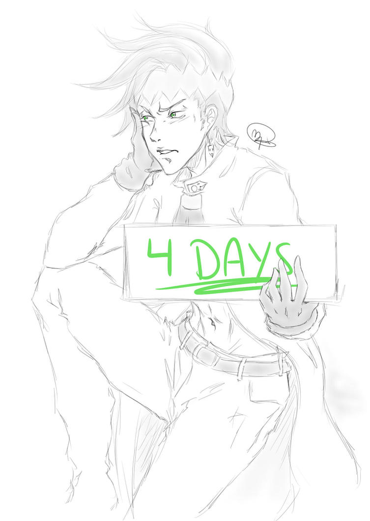 Rohan Jojo Part4 Countdown by KitsuneSama1720