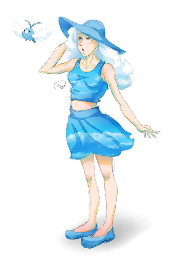 Pokemon challenge - Normal Type by KitsuneSama1720