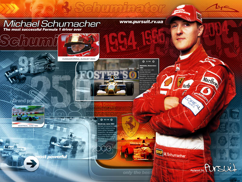 Michael Schumacher-Schuminator by pursuit-porsche