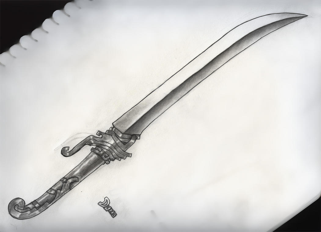 Sword Drawing by DokterDume on DeviantArt