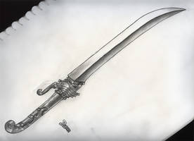 Sword Drawing by DokterDume