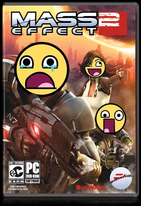 Mass Effect 2 Cover Edit