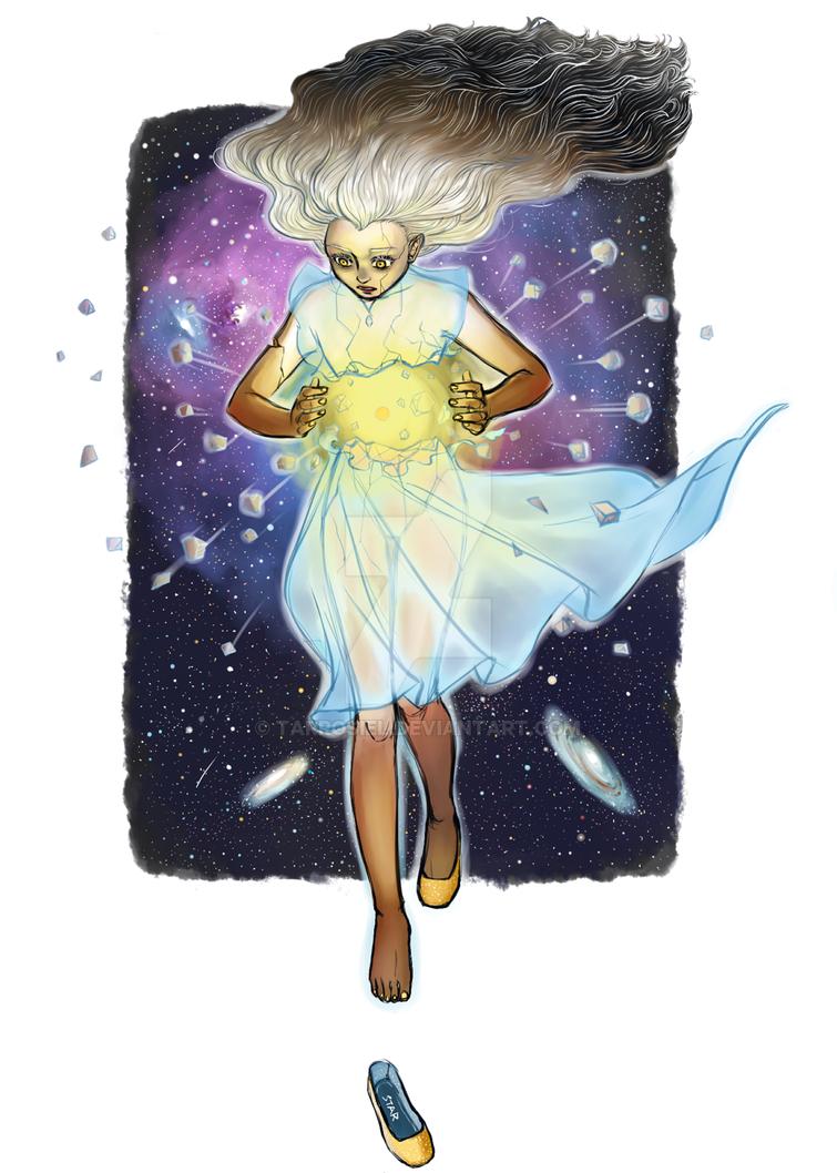 StarBurst / Birth of a new star by Tarrosiel