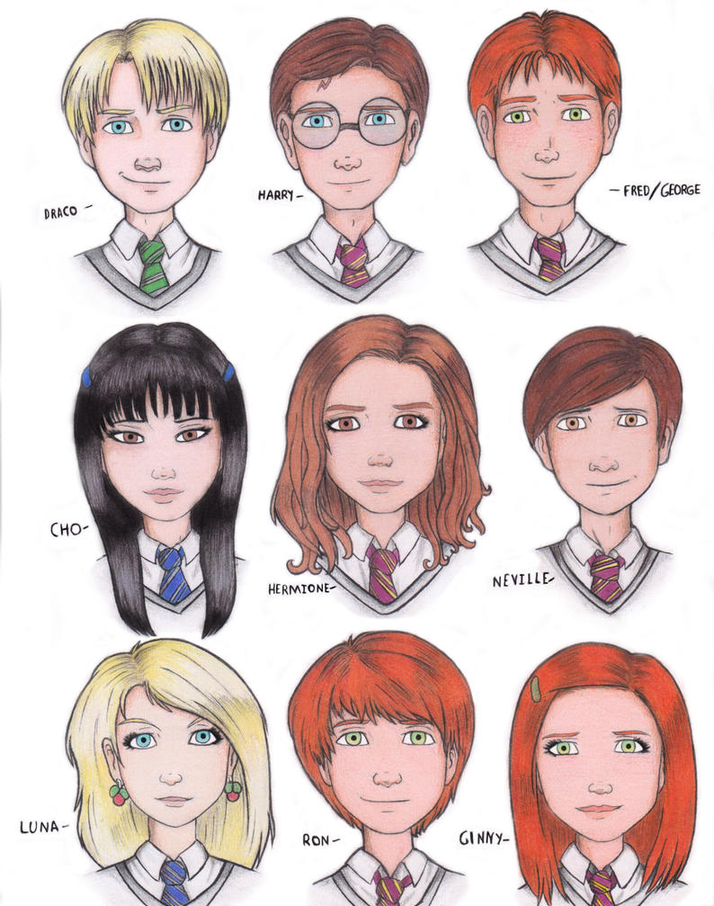 Harry Potter in my style by Hichcoot