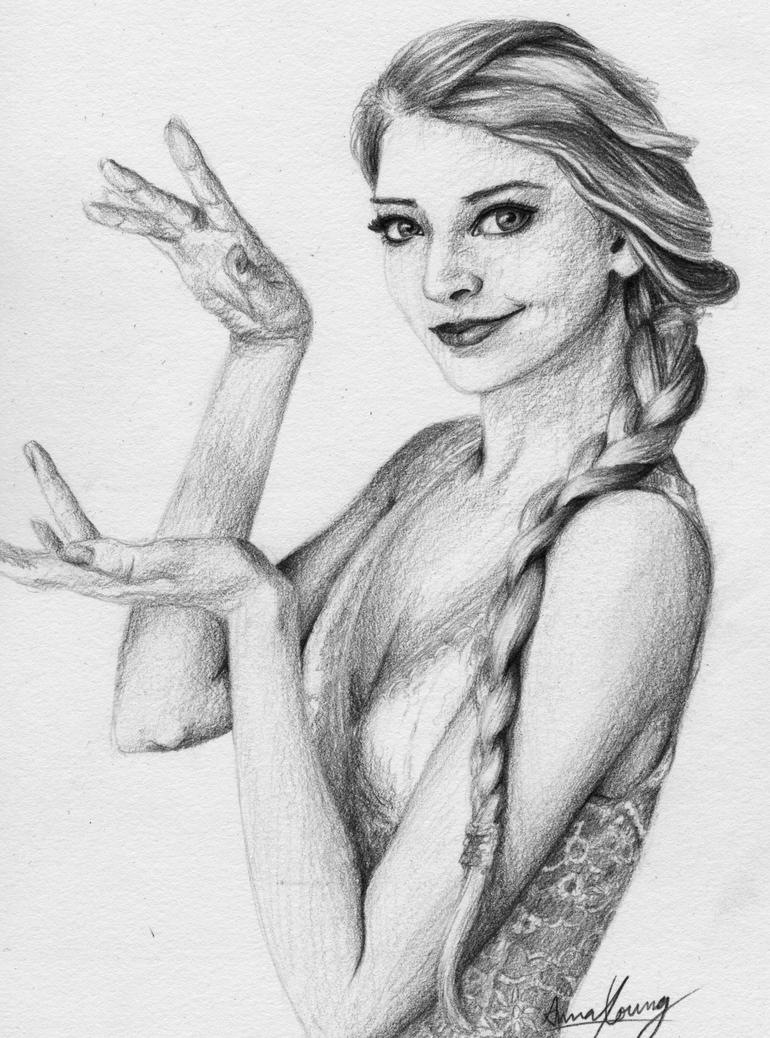 Portrait Practice by stickopotamu