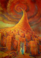 Babel Tower by the-surreal-arts