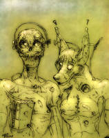 Xtro Pair by the-surreal-arts