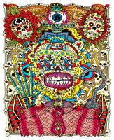 Dia de los Muertos by the-surreal-arts
