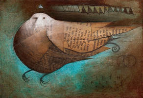 Epiphanic Bird by the-surreal-arts