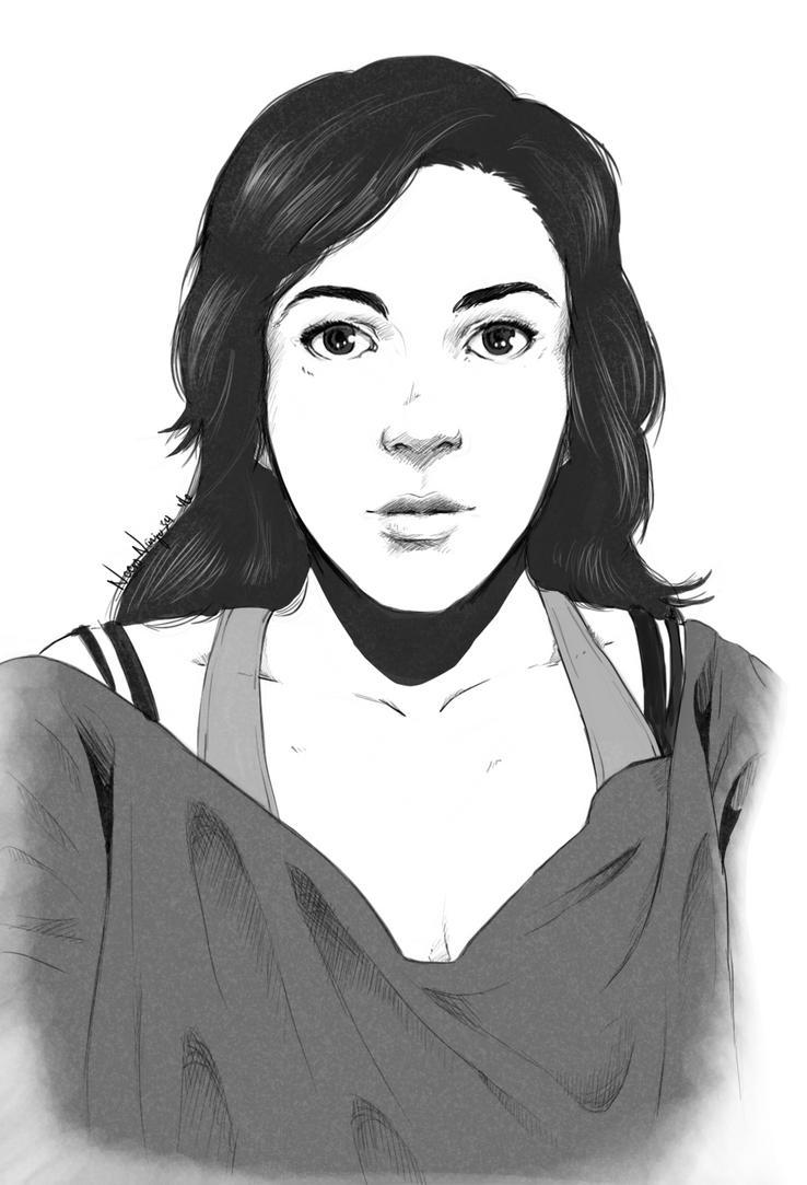 Self portrait by NecroNinja34