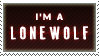 I'm a lonewolf by The-RedX