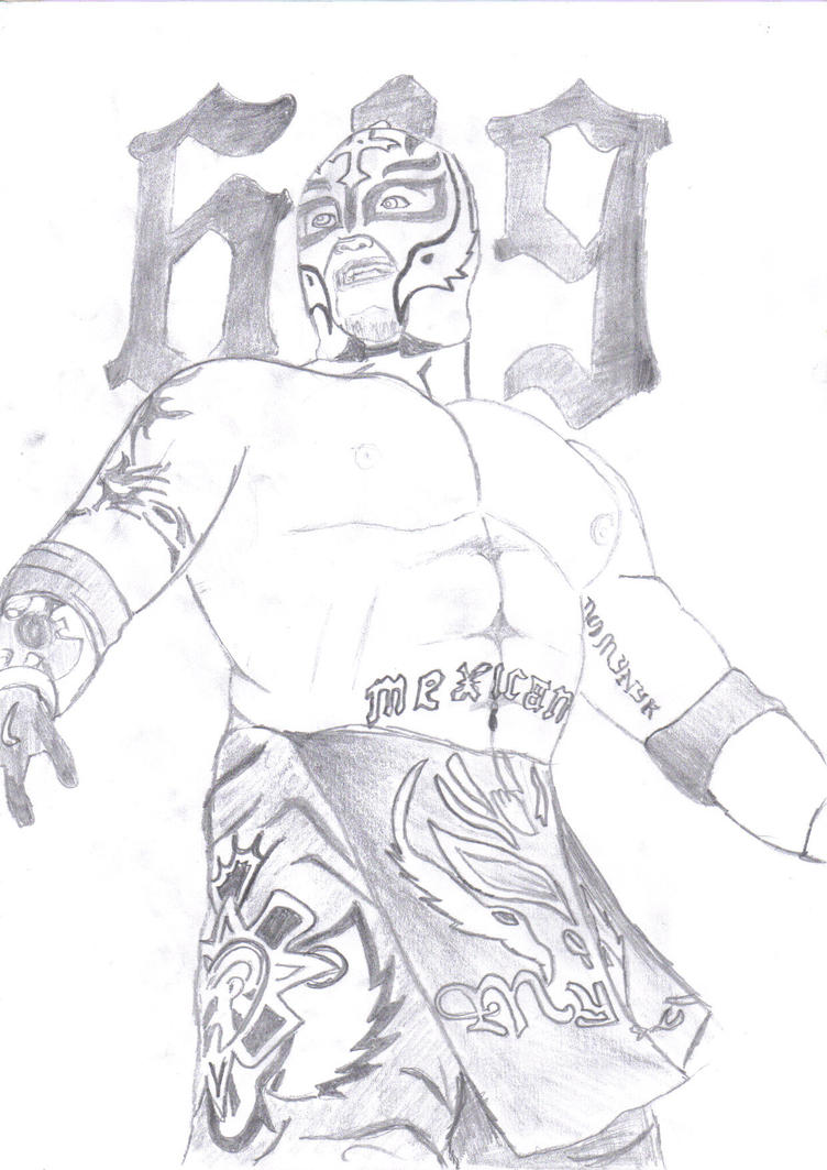 Rey mysterio coloring cake ideas and designs for Wwe rey mysterio mask coloring pages