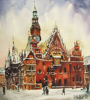 Wroclaw, Winter Town Hall