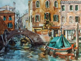 Venice, Sleepy Afternoon by PawelGladkow