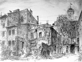 Lviv, Backyard
