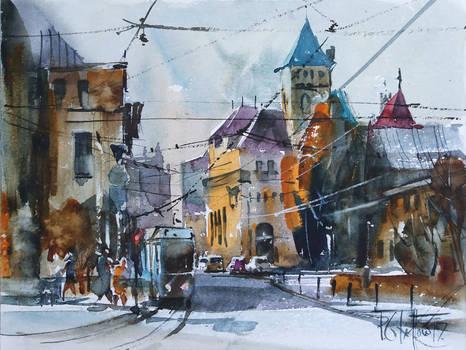 Wroclaw, Theatre Street