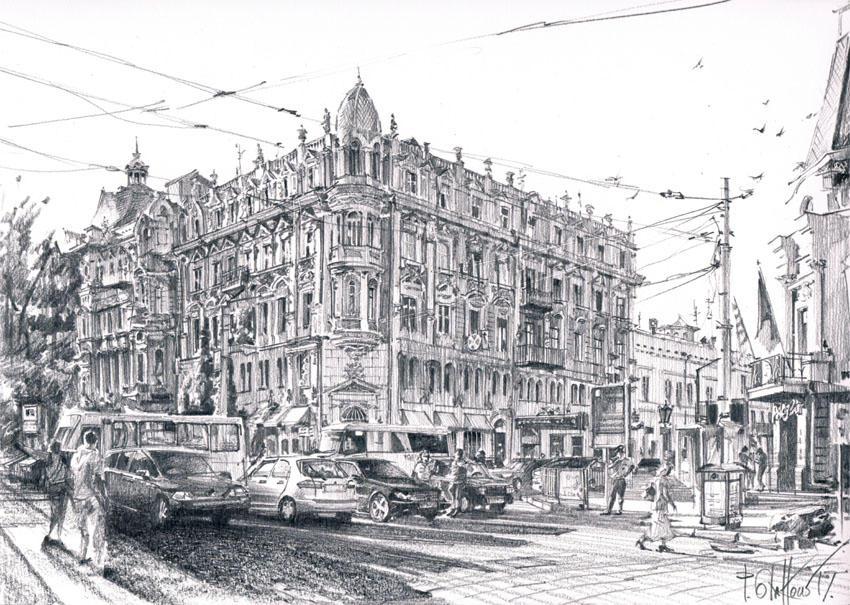 Odessa, Preobrazhenska St.