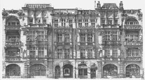 Wroclaw,  House at Kosciuszko Street