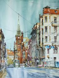 Wroclaw, Krupnicza Street