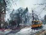 Dzierzoniow, Yellow Bus