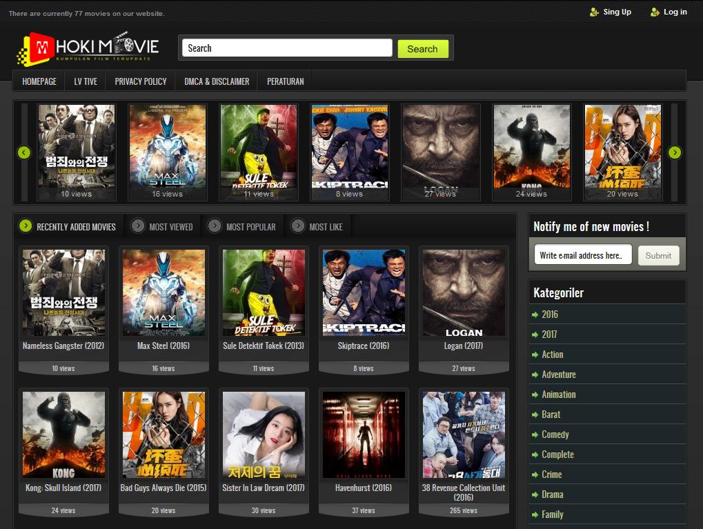 Hokimovie.com - Nonton Film Online Gratis by andrepranataa