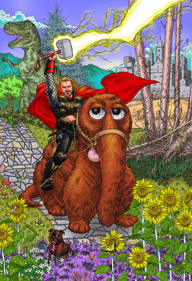 ThorSnuffy Color Rough by Walmsley