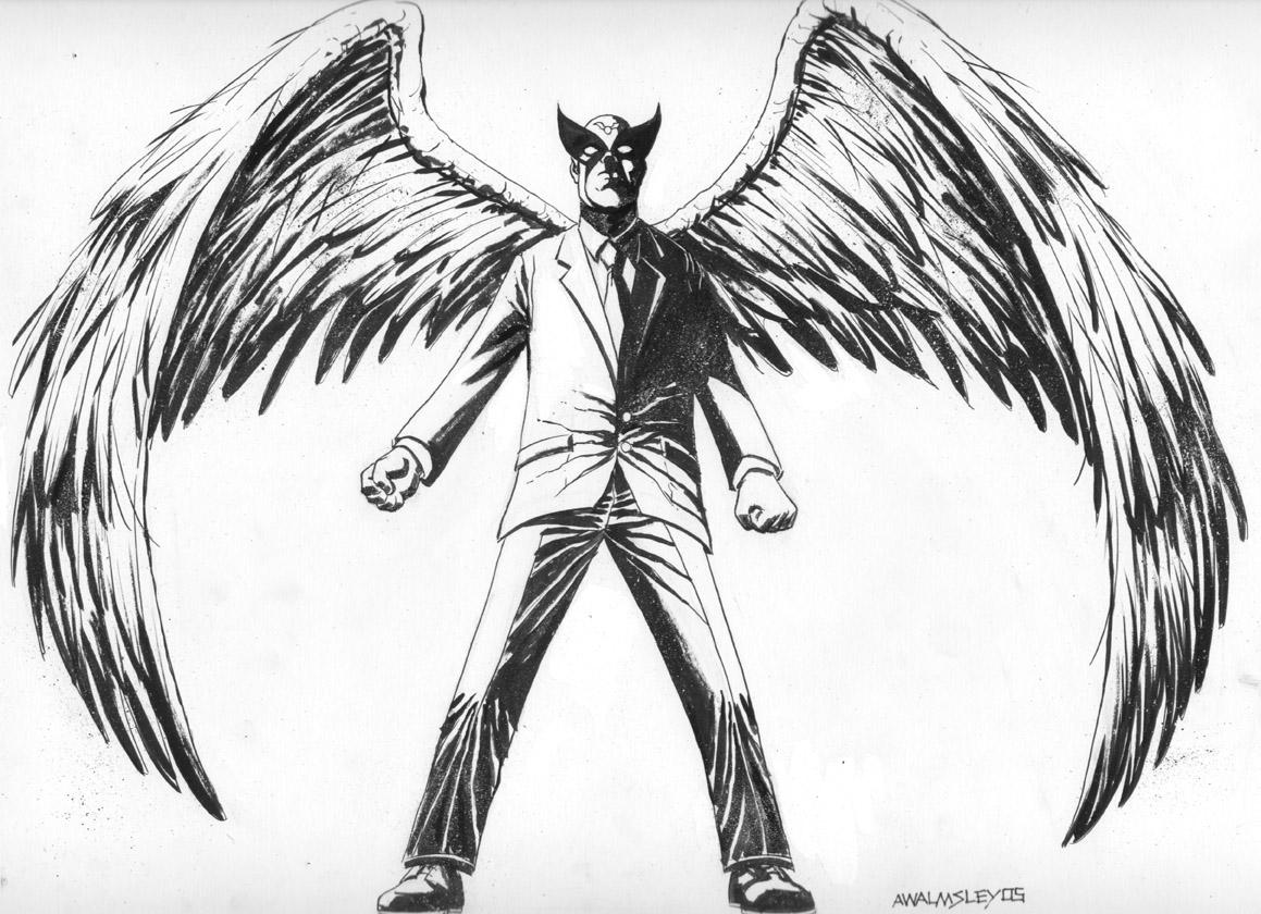 Harvey Birdman by Walmsley