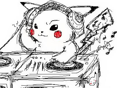 Pikachu by kunoichi069