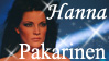 Hanna Pakarinen stamp by The-Fairywitch