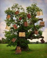 Tree of Knowledge by The-Fairywitch