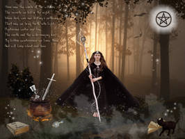 Hecate - Goddess of Witchcraft by The-Fairywitch