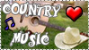 Country Music stamp by The-Fairywitch