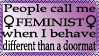 Feminist stamp by The-Fairywitch