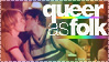 'Queer as Folk' stamp by The-Fairywitch