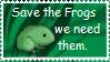 Save the frogs by Artemis-Phoenix